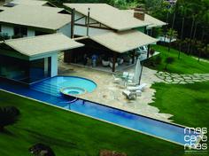 Residência TF - Cataguases, Minas Gerais / Mascarenhas Arquitetos Associados #arquitetura #architecture #piscina #pool