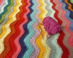 10 Beautiful, Colorful Crochet Patterns