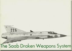 SAAB J 35 Aircraft Draken Weapon System Brochure Manual - Aircraft Reports - Manuals Aircraft Helicopter Engines Propellers Blueprints Publications