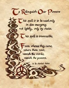 To Relinquish Our Powers by Charmed-BOS on deviantART