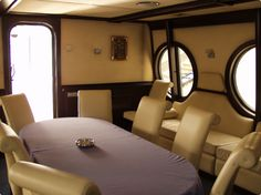 Kiev Yacht Rental - Living room with the Table Conference Room, Activities, Living Room, Table, Furniture, Home Decor, Homemade Home Decor, Meeting Rooms, Mesas