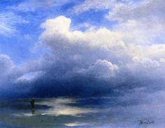 Sea and Sky  Albert Bierstadt