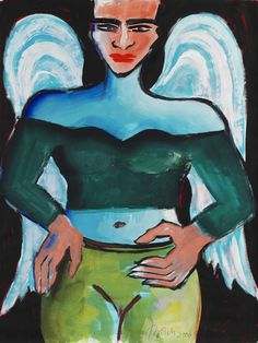 Bad Painting, Elvira Bach, Cemetery Statues, Neo Expressionism, Art Auction, Munich, Container Gardening, Disney Characters, Fictional Characters