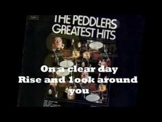 THE PEDDLERS - ON A CLEAR DAY YOU CAN SEE FOREVER ( VINYL LYRICS ) - YouTube