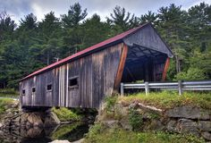 If you delight at visiting covered bridges, you have come to the right place. There are two covered ridges within a short drive (or walk) from the museum. For more information click on this link: http://traveltips.usatoday.com/way-tour-covered-bridges-new-hampshire-110450.html [photo credit: Jaime Murray]