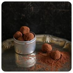 Trufas de chocolate sem glúten/lactose | Vídeos e Receitas de Sobremesas
