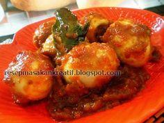 Resep Telur Bumbu Rujak   Resep Masakan Indonesia (Indonesian Food Recipes)