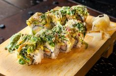 Alaskan Roll is one of the products (for delivery only) that has made Sushi Dojo NYC a top sushi bar NYC