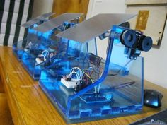 Picture of DIY Solar Tracker Check out http://arduinohq.com for cool new arduino stuff!