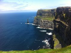 Cliffs of Moher! Cliffs Of Moher, Summer Fun, Water, Travel, Outdoor, Gripe Water, Outdoors, Viajes, Destinations