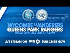 Wycombe Wanderers vs QPR - http://www.footballreplay.net/football/2016/07/22/wycombe-wanderers-vs-qpr/