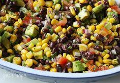 Southwestern salad.  Yes, please.
