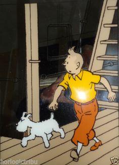 Tintin Miroir Sérigraphié   eBay
