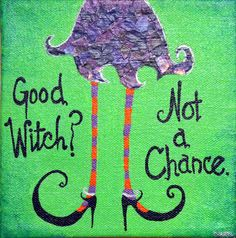 """Cute """"Good Witch"""" Halloween Small Original Painting - Acrylic & Mixed Media on Canvas Girl Décor by Cherona Art Good Witch Halloween, Halloween Canvas, Whimsical Halloween, Halloween Painting, Theme Halloween, Fall Halloween, Halloween Crafts, Halloween Ideas, Halloween Decorations"""