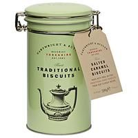 Cartwright & Butler Salted Caramel Biscuits in a Tin. Find this and other delicious confectionery available to purchase from the Twinings Tea Shop today. Biscuit Cake, Biscuit Recipe, Tin Gifts, Food Gifts, Tapas, Caramel Biscuits, Twinings Tea, Chocolate Stars, Chocolate Brands