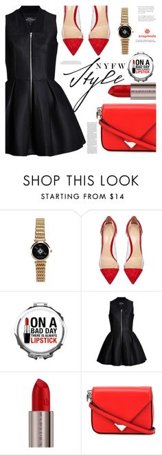 """What to pack"" by mycherryblossom ❤ liked on Polyvore featuring Gianvito Rossi, Urban Decay, Alexander Wang and NYFW"