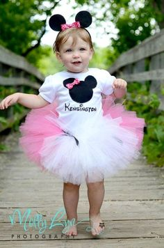 Minnie Mouse Birthday Party Costume / Outfit for the Celebrant Minnie Mouse Birthday Party Ideas