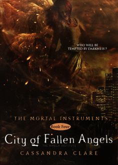 The Mortal Instruments | city of fallen angels | cover | Cassandra Clare