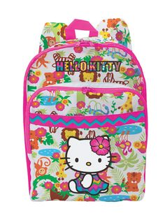 Hello Kitty Jungle Backpack