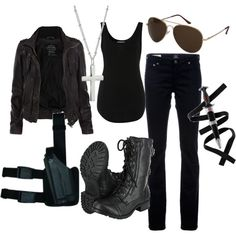 ummm ... only the outfit  sunglasses ummm.... idk wat the hell the other stuff is lmfao i only like the outfit :/