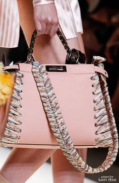 Fendi Spring 2017 RTW - Handbags & Wallets - amzn.to/2hEuzfO Clothing, Shoes & Jewelry : Women : Handbags & Wallets : http://amzn.to/2jBKNH8 - real leather handbags, italian leather handbags, leather designer handbags *ad