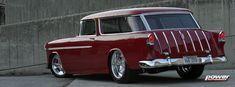 55 Chevy Nomad, had one of these once Chevy Trucks For Sale, Hot Rod Trucks, Dragon Wagon, Station Wagon Cars, Chevy Nomad, Chevy Muscle Cars, Us Cars, Performance Cars, Vintage Trucks