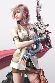 When final fantasy xiii came out I was like yes female lead! Then I was like man this chick is rude/mean and has like a major stick up her bottom!