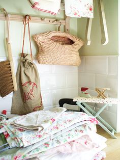 adorable laundry space