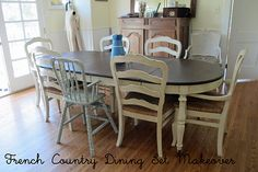 Great inspiration for doing something cool with my dining room table
