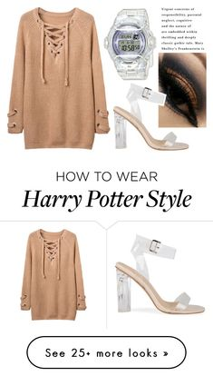 """""""skeptical"""" by soidi-illis on Polyvore featuring Baby-G"""