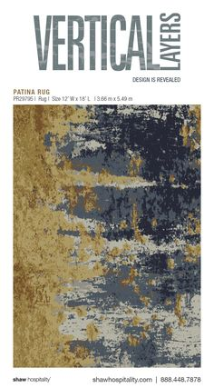Patina Rug | PR29795 Hospitality carpet for commercial interiors. Design for hotel spaces: lobby, hotel corridor, hotel public spaces, hotel elevators.