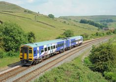 A Northern Rail service travelling through the countryside