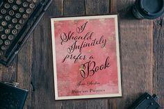 Printable Jane Austen I Should Infinitely Prefer a Book