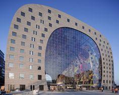 Markthal Rotterdam by MVRDV   Rotterdam, The Netherlands
