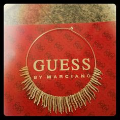 Beautiful Necklace by Guess Marciano  Necklace silver with small rhinestones just gorgeous New Guess by Marciano Accessories