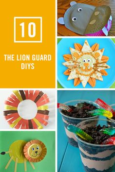 10 Lion Guard DIYs Sure to Be a Roaring Good Time