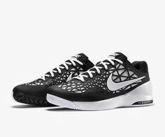 Nike Zoom Cage 2 Tennis Shoes Mens 10.5 Black White 705247 010 #Nike #Tennis