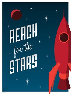Reach for the Stars by Troy Jensen, via Behance