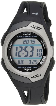 Casio Women's STR300 Runner Eco Friendly Digital Watch *** Details can be found by clicking on the image.