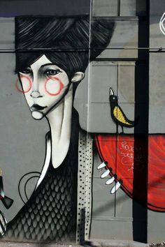 Street Artist: Twoone in Melbourne