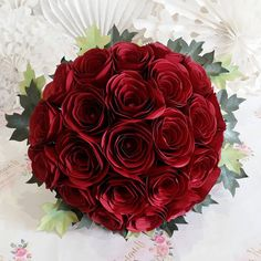 Hey, I found this really awesome Etsy listing at https://www.etsy.com/uk/listing/248882080/paper-wedding-flowers-bouquet-red-roses