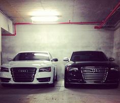 Audi A8, his an hers - great cars wish we kept ours! Was amazing!!