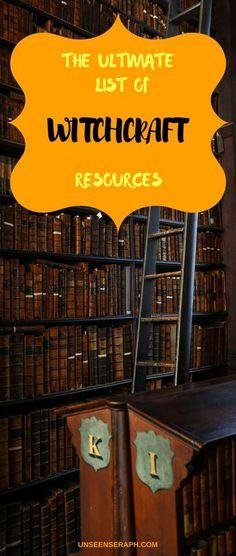 The ultimate Magick resources list The best books podcasts more for witches and practitioners of magick Check them out Unseen Seraph Magick Witchcraft Block Removal. Witchcraft Books, Wiccan Spells, Magic Spells, Magick, Easy Spells, Paz Mental, Traditional Witchcraft, Hedge Witch, Modern Witch