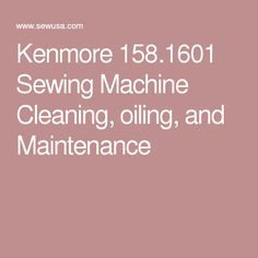 kenmore 158 1320 1325 1336 1347 1946 sewing machine threading rh pinterest com