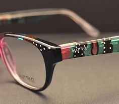 27b631a9ea Check out MATTISSE EYEWEAR Hand Painted Frames at Booth  G5760 at   VisionExpo East 2015!