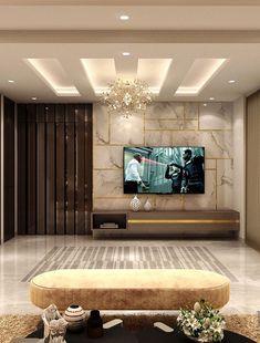 Living Tv, Living Room Wall Units, Living Room Tv Unit Designs, Ceiling Design Living Room, Room Design Bedroom, Home Room Design, Tv Unit Furniture Design, Tv Unit Interior Design, Bedroom Furniture Design