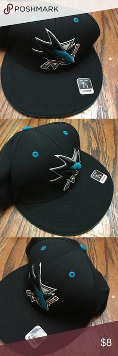 SAN Jose sharks Hat Fitted SAN Jose Sharks Hat san jose sharks Other