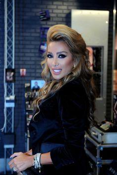 Maya Diab luv the hair and makeup