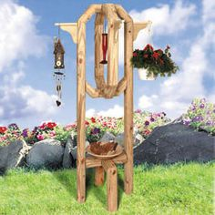planters made from landscape timbers | tower this multi use planter is made from simple landscape timbers ...