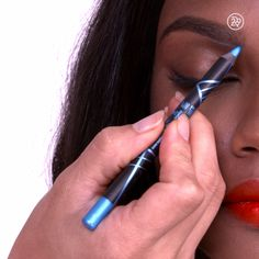 Underline your brow for an unexpected accent